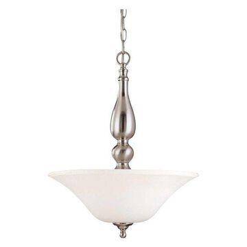Nuvo Lighting Dupont ES 3-Light Pendant with Satin White Glass