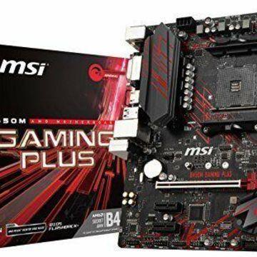MSI B450M GAMING PLUS Desktop Motherboard - AMD Chipset - Socket AM4