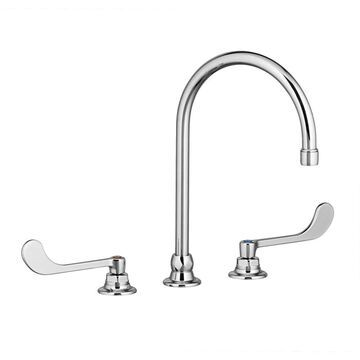 American Standard Monterrey Polished Chrome 2-Handle Widespread WaterSense Bathroom Sink Faucet with Drain | 6540168.002