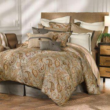 HiEnd Accents 4 pc. Piedmont Comforter Set Super Queen, FB3950-SQ-OC