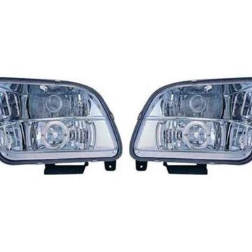 2006 Ford Mustang IPCW Headlights in Black