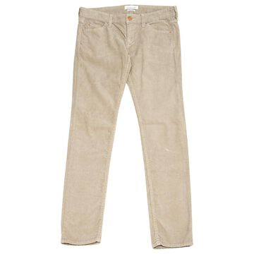 Isabel Marant Etoile \N Beige Velvet Trousers