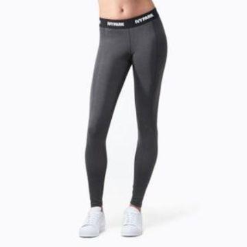 Ivy Park Low-Rise Leggings - Womens - Grey