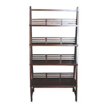Sterling Industries Solano Wooden Shelf in Mahogany