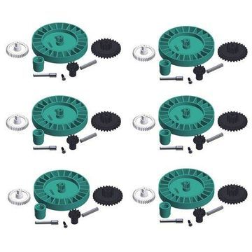 Hayward AXV079VP Auto Pool Cleaner Medium Turbine Gear Replacement Kit (6 Pack)