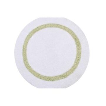 """Better Trends Hotel Collection Round Bath Rug 30"""" Bedding"""