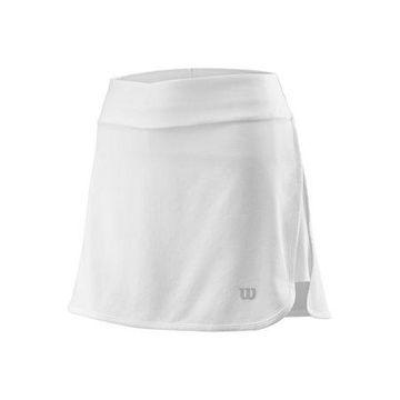 Wilson Women's Condition 13.5 Tennis Skirt, White