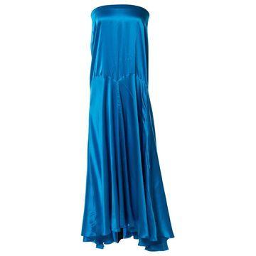 Roberto Cavalli Blue Silk Skirts