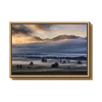 Amanti Art Autumn Morning by Nina Pauli Canvas Framed Art