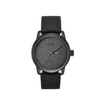 Citizen Chandler Mens Black Bracelet Watch-Bm8475-00f