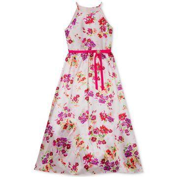 Toddler Girls Floral-Print Maxi Dress