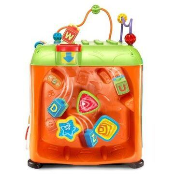 VTech Ultimate Alphabet Activity Cube, Learning Toy for Baby Toddler