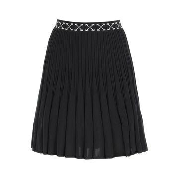 Off-white bold skirt