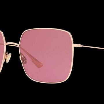Dior Woman DIORSTELLAIRE1 - Frame color: Gold, Lens color: Pink, Size 59-18/145