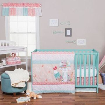Trend Lab Wild Forever 3-Piece Crib Bedding Set
