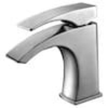 ALFI brand ALFI brand Brushed Nickel 1-Handle Single Hole Bathroom Sink Faucet (Valve Included)