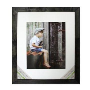 Black Wash Wooden Frame, Farmington By Studio Decor
