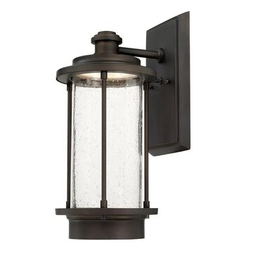 Grant Park Old Bronze LED Outdoor Wall Lantern