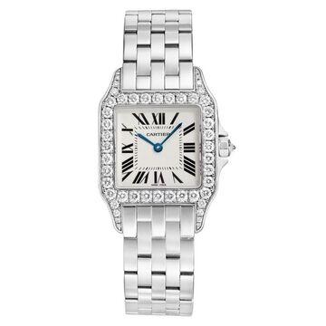 Cartier Unisex WF9004Y8 'Santos' Stainless Steel Watch