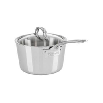 Viking Contemporary 3-Ply, 3.4-Quart Stainless Steel Sauce Pan