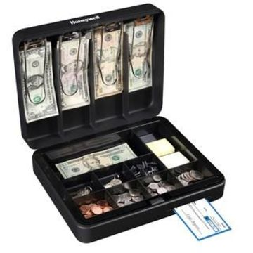 Honeywell Deluxe Steel Cash Box