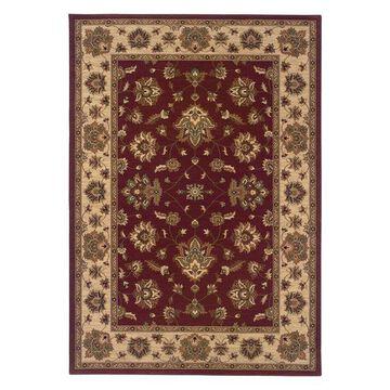 Oriental Weavers Ariana Floral Red/Ivory Rug