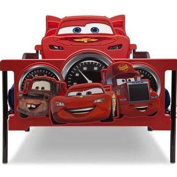 Delta Children Plastic 3D-Footboard Twin Bed Disney/Pixar Cars Delta Children