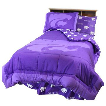Kansas State Wildcats Bed in a Bag Queen, With Team Colored Sheets