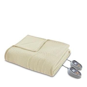 Beautyrest Electric Microfleece Heated Blanket, Twin