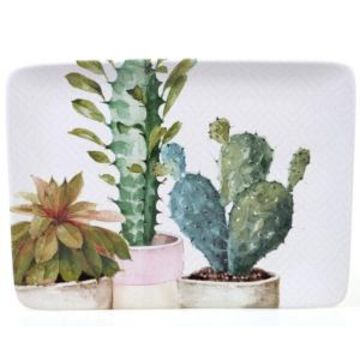 Certified International Cactus Verde Rectangular Platter