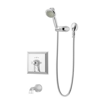 Symmons S-4504-TRM Canterbury Tub and Shower Trim Package with Multi Function Shower Head