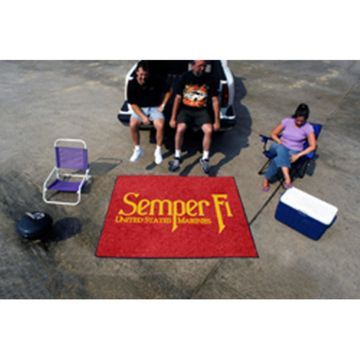 Fanmats Military 60 x 72 in. Tailgater Mat