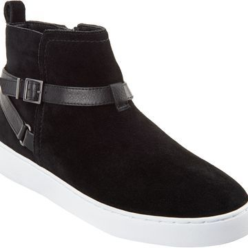 Vionic Leather Slip-On Shoes - Mitzi