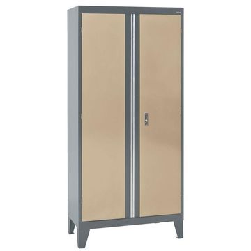 Sandusky 36-in W x 79-in H x 18-in D Steel Freestanding Garage Cabinet in Brown