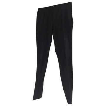 Apc \N Blue Cotton Trousers