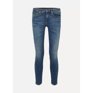 R13 - Alison Mid-rise Skinny Jeans - Dark denim