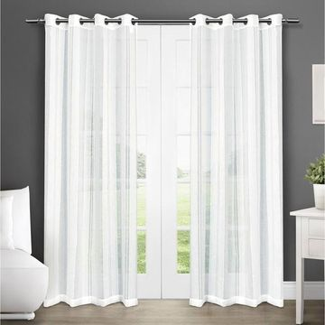 Exclusive Home Apollo Sheer Window Curtains