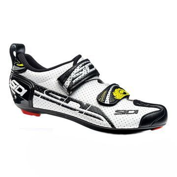 Sidi Men's T4 Air Triathlon Shoes Carbon White/Black 42.5