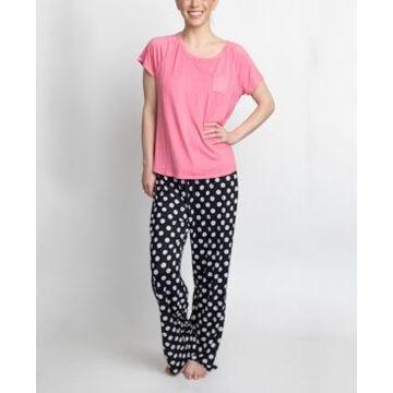 Muk Luks T-Shirt & Pants Pajama Set