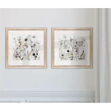 Wexford Home 'Wildflower Mist I' Framed Art Prints (Set of 2)