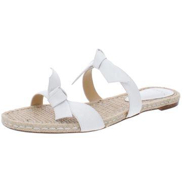 Alexandre Birman Womens Clarita Slide Sandals Leather
