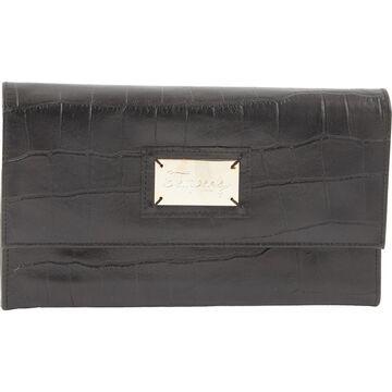 Temperley London Black Leather Travel bags