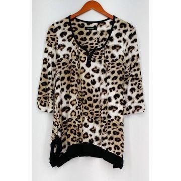 Ellen Tracy Size S Sleepshirt Jersey Knit Pajama Top Black A296459