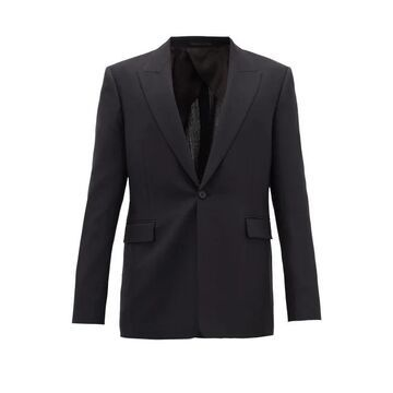 The Row - Mason Single-breasted Tropical-wool Suit Jacket - Mens - Dark Navy