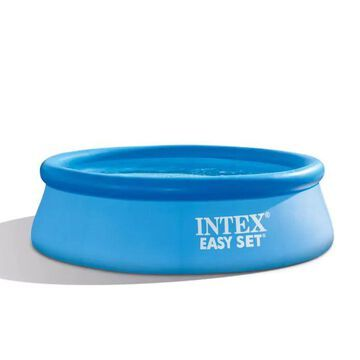 Intex 8-ft x 8-ft x 30-in Round Above-Ground Pool Polyester | 61795