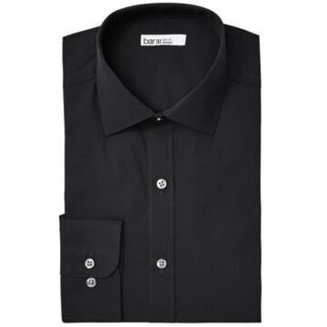 Bar Iii Men's Organic Cotton Solid Slim Fit Dress Shirt, Created for Macy's