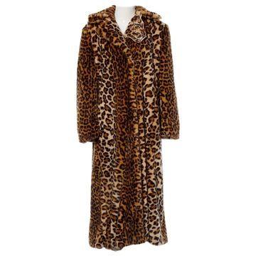 Vivetta Brown Faux fur Coats