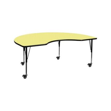 Flash Furniture Activity Table, Yellow