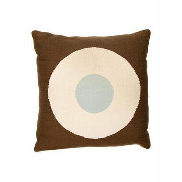 Reversible Throw Pillow Blue