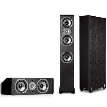Polk Audio TSi400 3.0 Home Theater Speaker Package (Black)